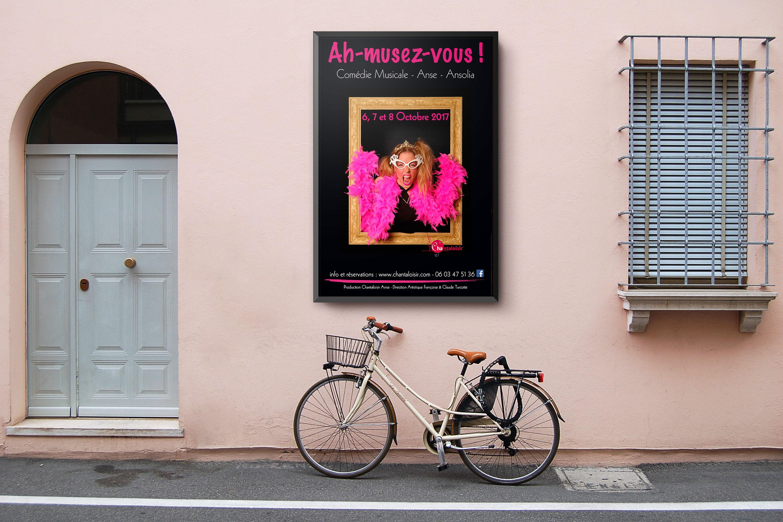Affiche comédie musicale Ah-Musez-Vous ! Chantaloisir