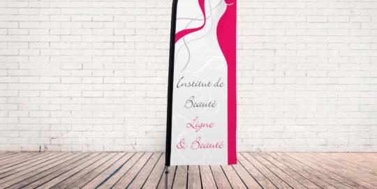 drapeau-voile Institut de Beauté Ligne et Beauté
