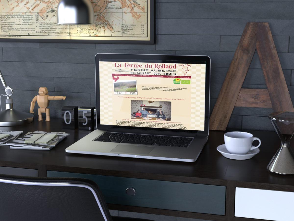 site-internet-la-ferme-du-rolland