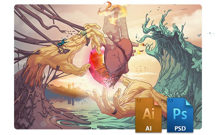 graphisme adobe illustrator