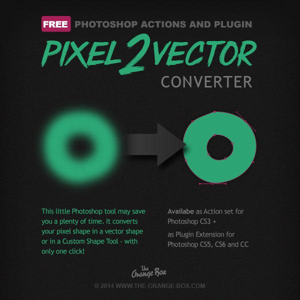 convertir forme pixel vectoriel photoshop