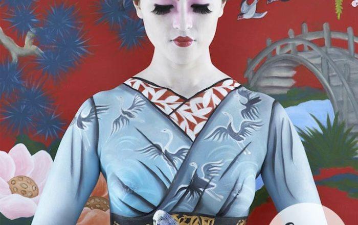 l'Art du camouflage raffiné d'Emma Hack