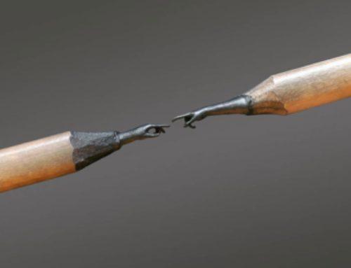 Un artiste à la pointe…de crayon