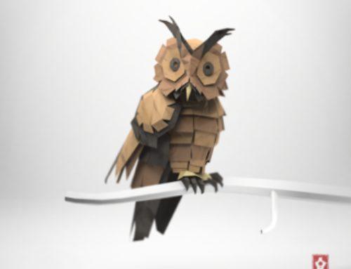 L'origami 2.0 de Jeremy Kool