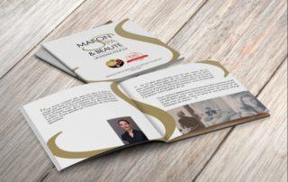 Brochure carrée Instant Minceur pour la Maison Spa Un Instant Pour Soi 14 Rue de la République, 69220 Belleville
