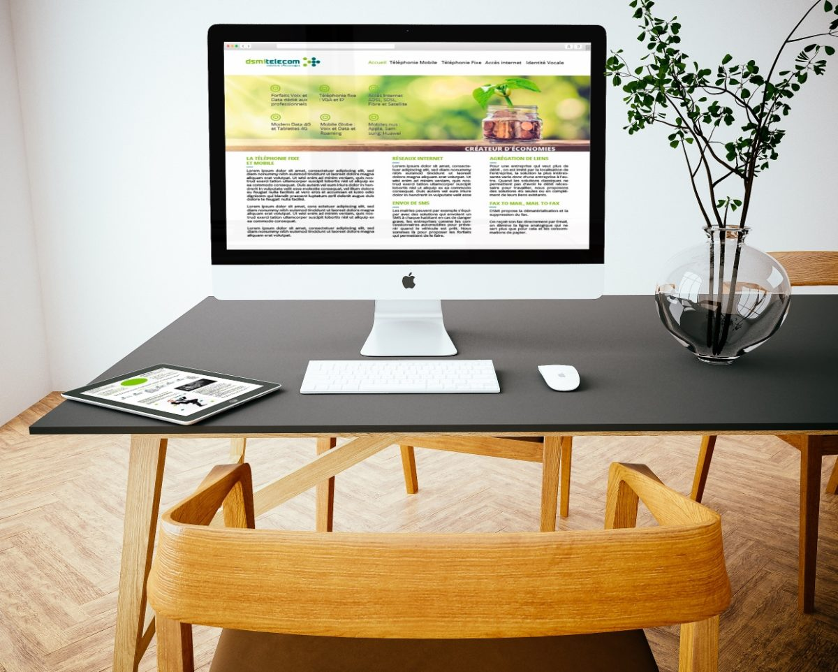 Design Web DSMI TELECOM_SAORI