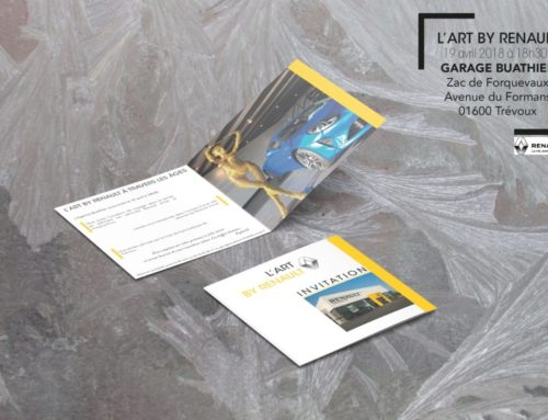 Invitation L'Art By Renault – Garage Buathier