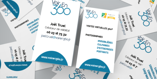 Carte de visite VoirEn360_Joel Truel : Agence Saori