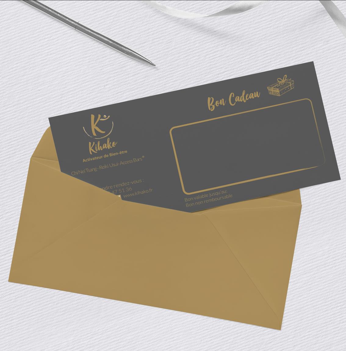 Creation Bon Cadeau Agence SAORI : KIHAKO