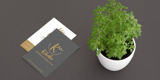 Creation Carte de visite Agence SAORI : KIHAKO