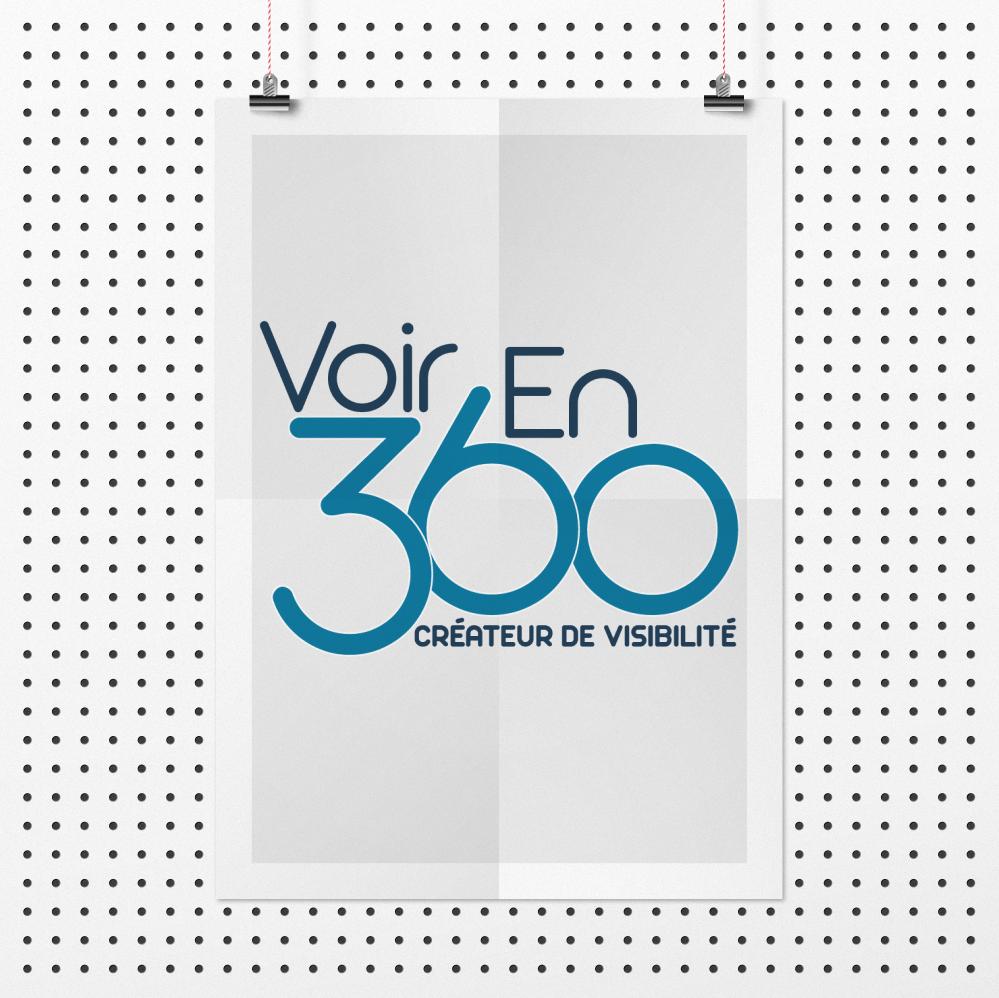 Logo VoirEn360_Joel Truel : Agence SAORI