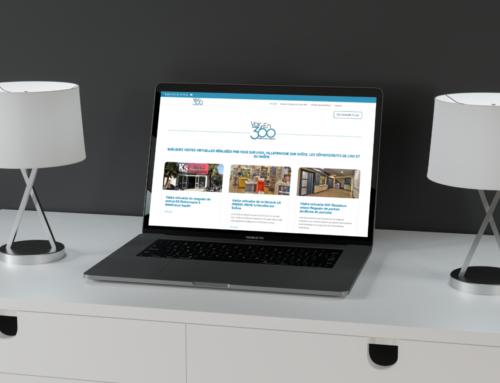 Charte Graphique Site internet VoirEn360 Joël Truel Créateur de Visibilité