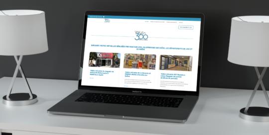 Site internet Web design VoirEn360_Joel Truel : Agence SAORI