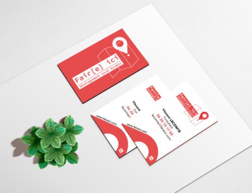 Refonte de Logo et Carte de visite Vincent Lecomte Consultant en Développement Local Durable