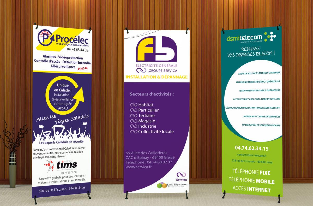 x-banner Procelec-FB Electricité-DSMI TELECOM