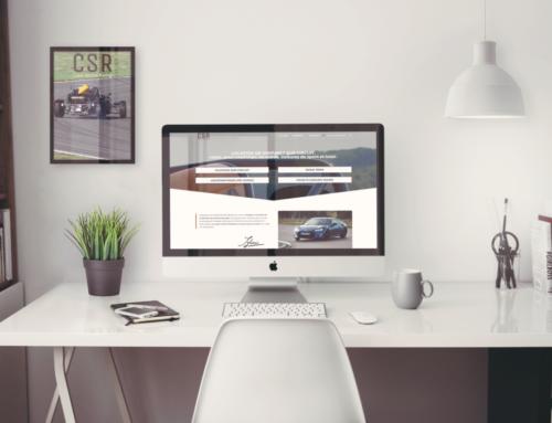 Charte Graphique Site Internet Cater Service Racing – Location de Voitures sur circuit