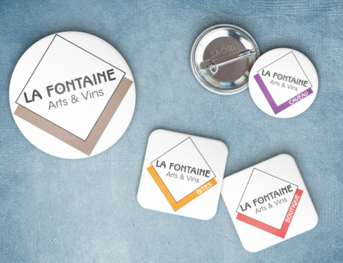 Les Logos de la Fontaine Arts & Vins de Jullié