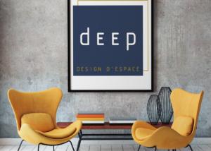 Création logo design d'espace Emilie Paule agence SAORI