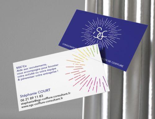 Carte de visite Stéphanie Court Consultante pour les professionnels de la coiffure