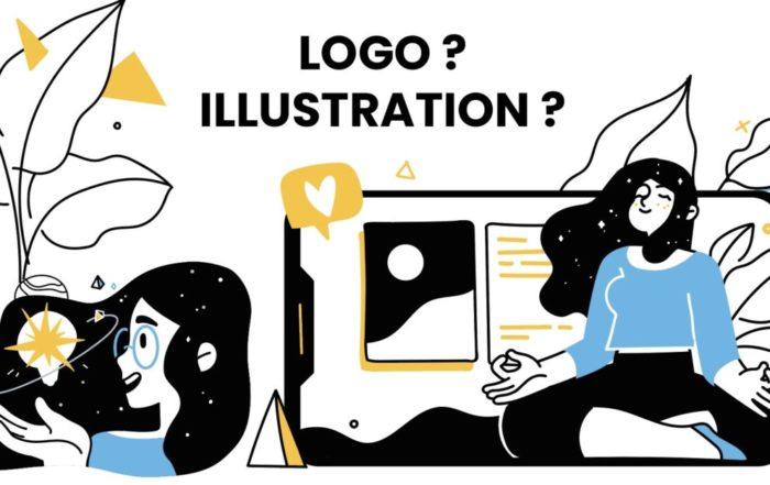 logo illustration communication