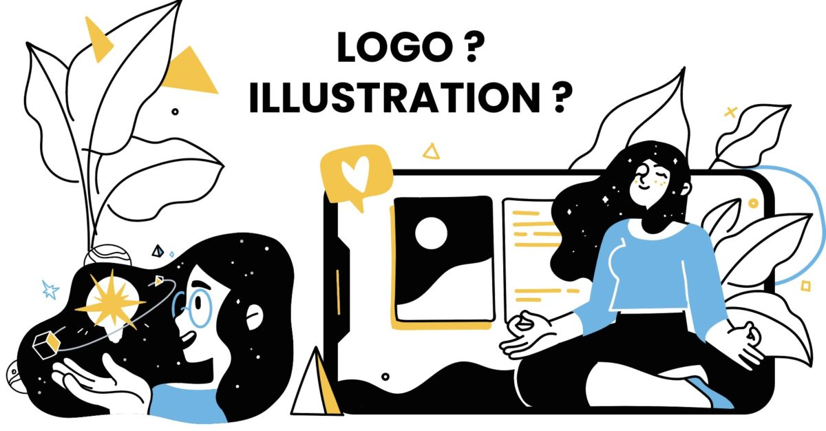 logo illustration communication