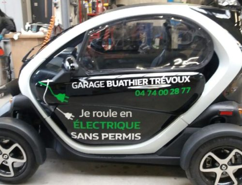 Marquage Adhésif Renault TWIZY