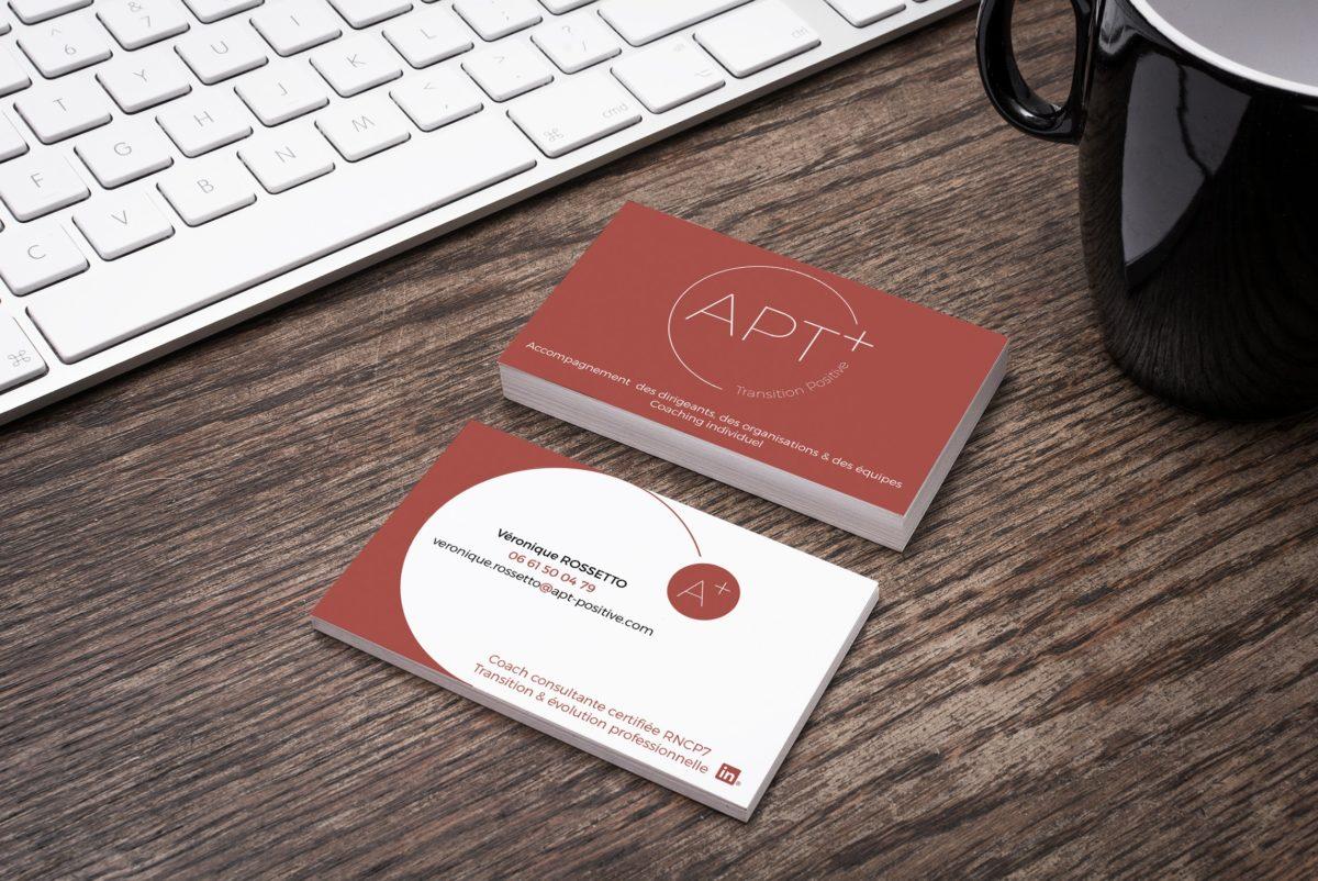 création logo et carte de visite coach consultante certifiée, accompagner les dirigeants, les managers les equipes et organisations transition et evolution professionnelle