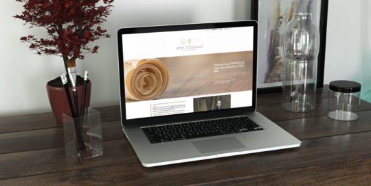 design du site jean d'harcourt ébéniste contemporain à rivolet