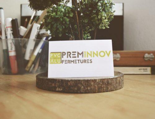 Création logo Preminnov Fermetures