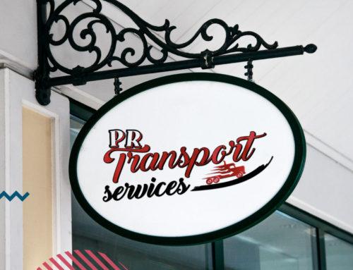 Refonte Logo PR Transport services