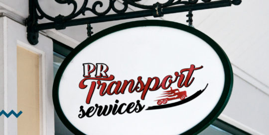 Pr transport services refont logo villie-morgon