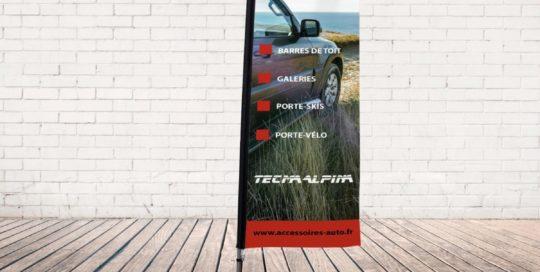 drapeau publicitaire tecma alpina guereins 01