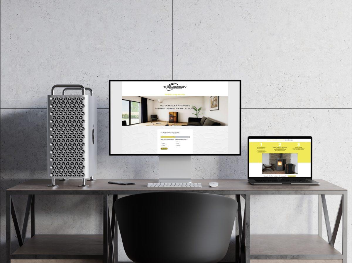 Webdesign thermorenov aura calade